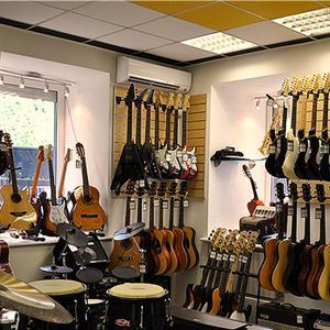 Музыкальные магазины Пушкино